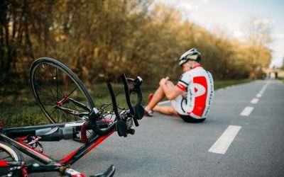 Rowerzysta potrącony przez samochód otrzymał £50,000 odszkodowania