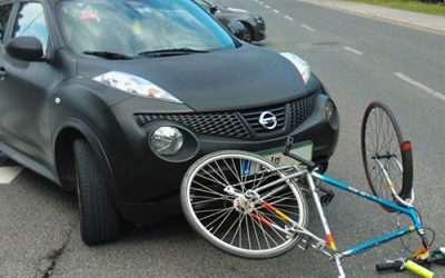 Nagranie z kamery na rowerze dowodem niebezpiecznej jazdy pojazdu w przypadku niejasności związanych z przebiegiem wypadku drogowego