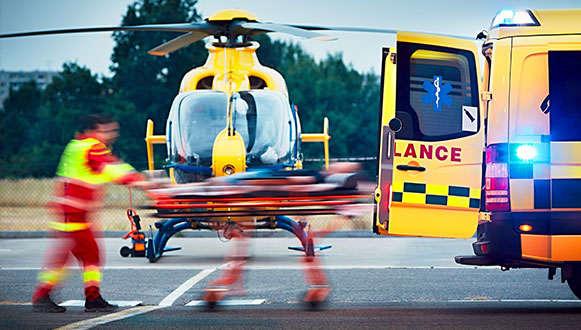 Ambulance obrażenia zmieniające życie