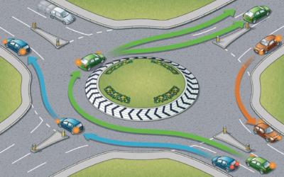 Odszkodowanie za wypadek na rondzie